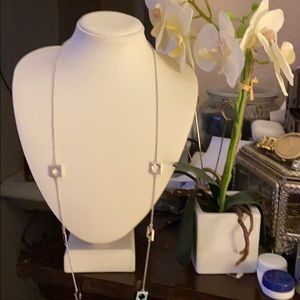 Kate Spade Silver Hole punch Necklace